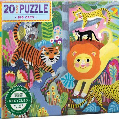 Big Cats 20 Piece Puzzle