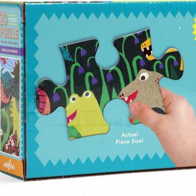 Dinosaur Friends 20 Piece Big Puzzle