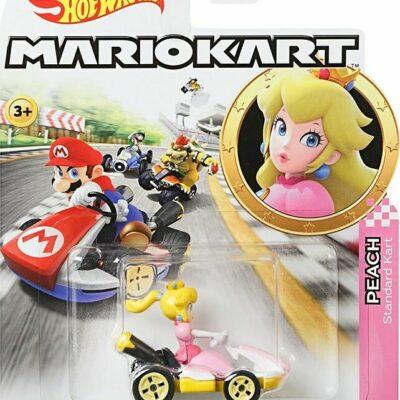Hot Wheels Mario Kart Replica Die-cast Assorted Vehicles