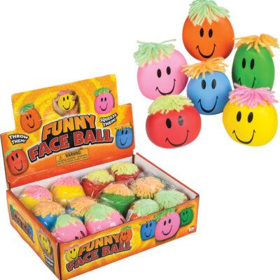 "3"" Smiley Stretch Ball"
